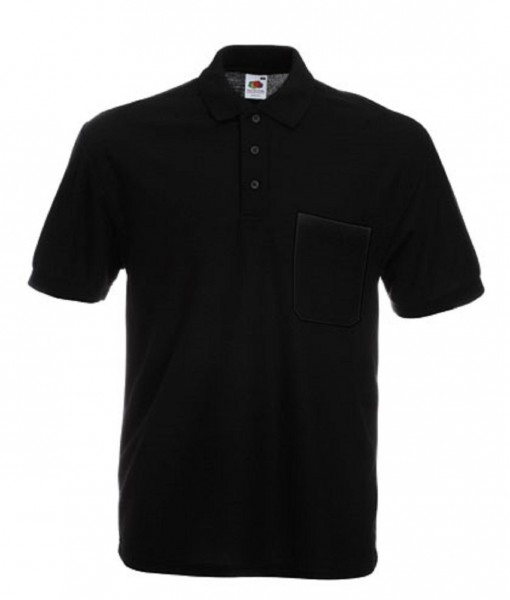 Pocket Polo F532, black.