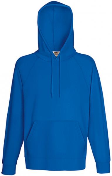 Lightweight Hooded Sweat, Royal Blue
