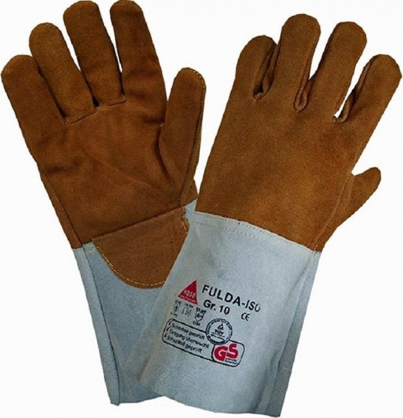 Schweißerhandschuh aus Sebatanleder TÜV/GS zertifiziert
