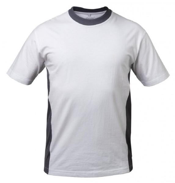Shirt PALMA, weiß/grau
