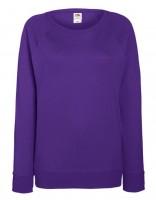 Damen Sweat Raglan Sweat Lady-Fit, purple.