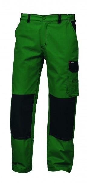Twill Arbeitshose, grün/schwarz