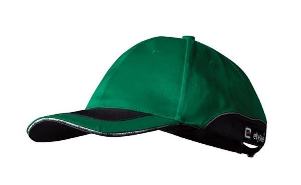 Cap grün/schwarz abgesetzt DAVID
