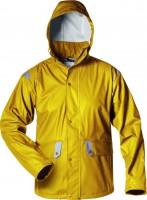 Atmungsaktive PU-Regenjacke, gelb BARWICK