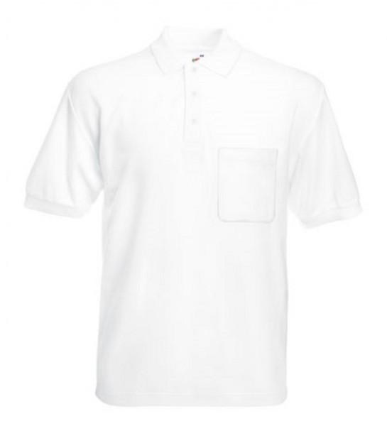 Pocket Polo F532, white.