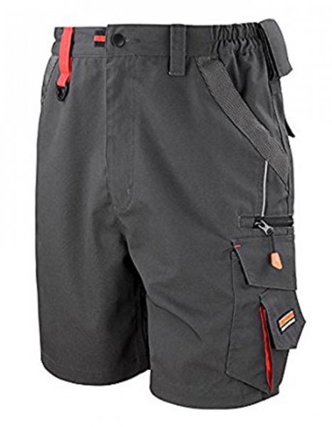 Result WORK-GUARD Technical Shorts, grey/black.