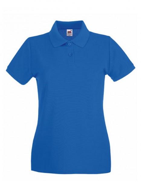 Damen Polo Lady-Fit: royal blue.