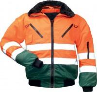 Warnschutzjacke TORBEN orange/grün