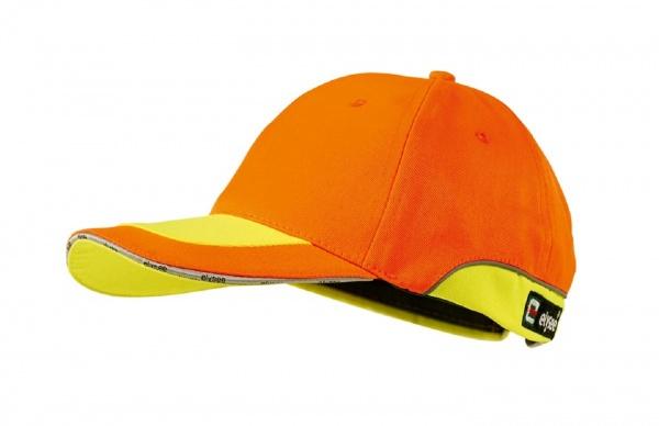Cap orange/gelb abgesetzt ANDREAS