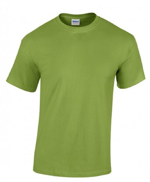 GILDAN Teavy CottonT-Shirt, kiwi.