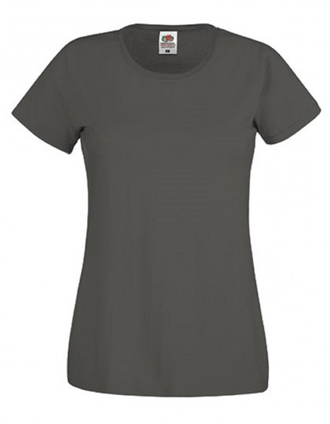 Damen T-Shirt Lady Fit: light graphite