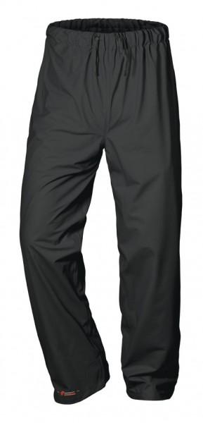 Atmungsaktive Regenbundhose schwarz