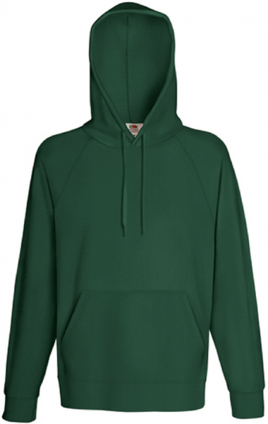 Lightweight Hooded Sweat, Bottle Green