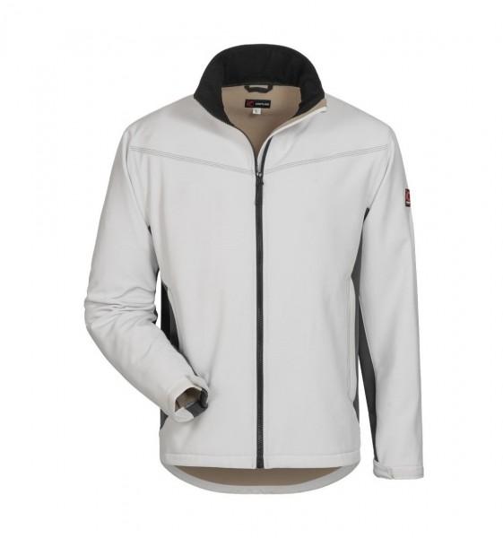 Softshell Jacke LAURIN weiß/grau