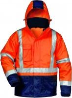 3 in 1 Warnschutzjacke UDO, orange/marine