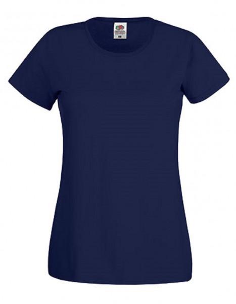 Damen T-Shirt Lady Fit: deep navy