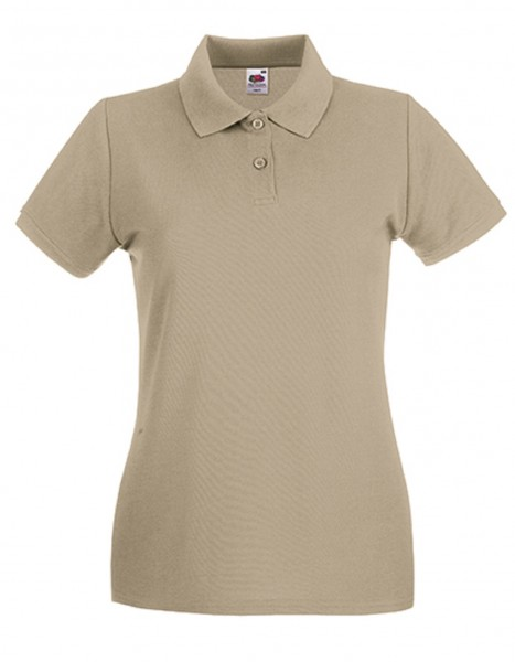 Damen Polo Lady-Fit: khaki.