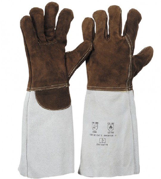 Handschuh aus Sebatanleder