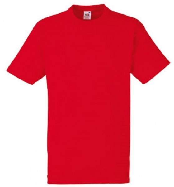 Heavy Cotton T-Shirt, red