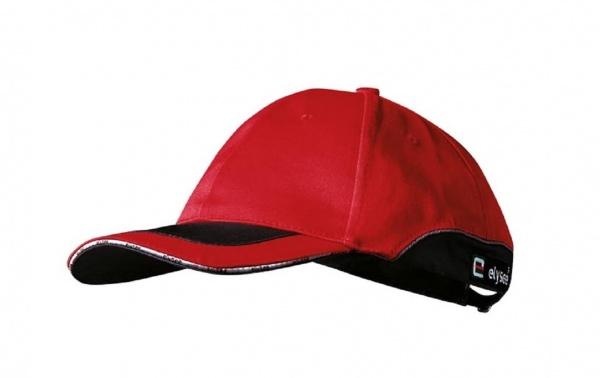Cap rot/schwarz abgesetzt Jack