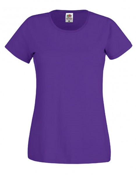 Damen T-Shirt Lady Fit: purple