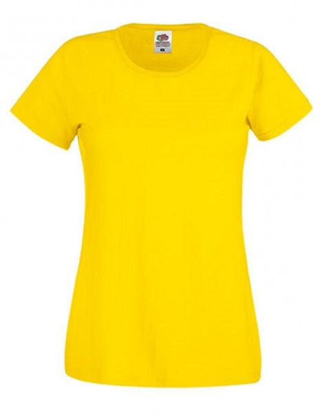 Damen T-Shirt Lady Fit: yellow