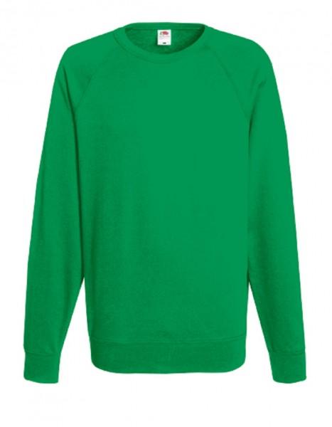 Leightweight Raglan Sweat, kelly green.
